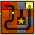 Golden Ball Maze: Labyrinth and Puzzle icon