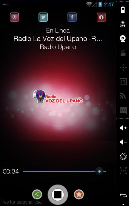 Radio Upano- screenshot
