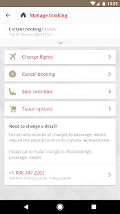 Air Canada- screenshot thumbnail