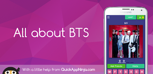 Game about bts. Are you a real army? Prove it