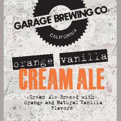 Logo of Garage Orange Vanilla Cream Ale