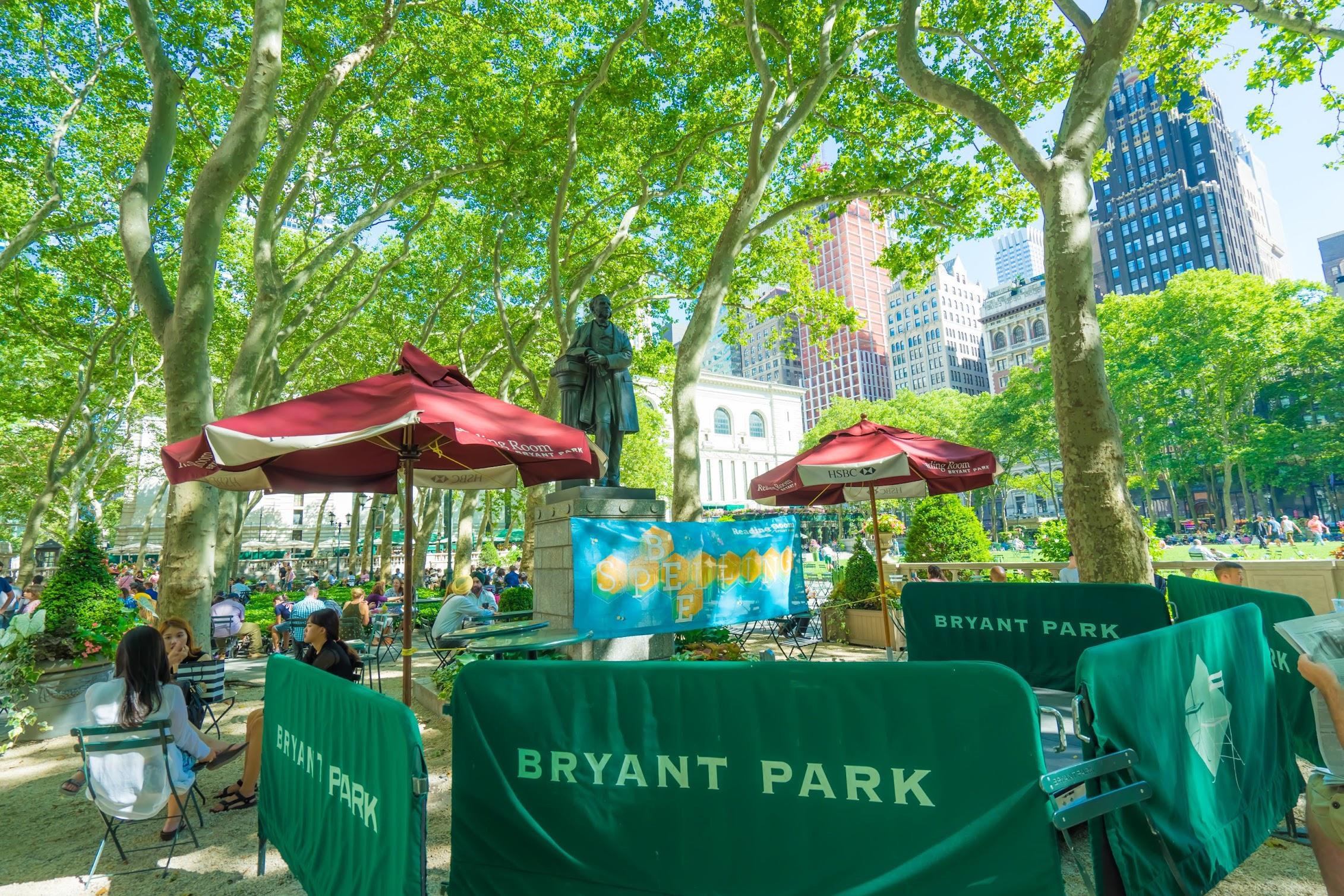 ニューヨーク ブライアント・パーク(Bryant Park)1