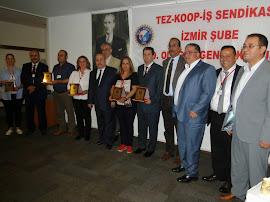 İzmir Şube 19. Olağan Genel Kurulu Tamamlandı.