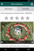 Screenshot of The city of Zdar nad Sazavou