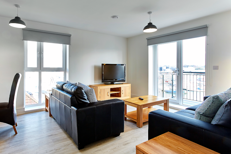living space at Deanery Court