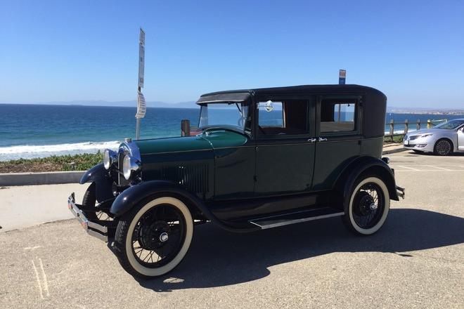 1929 Ford Model A 4 Door Sedan Hire La Jolla