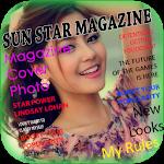 Magazine Cover Photo Frame