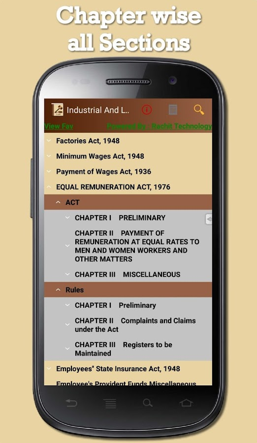India - Industrial And Labour Laws- screenshot