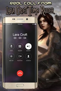 call from real lara croft the best - náhled