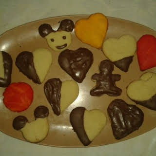 Chocolate Chip Vanilla Cookies.