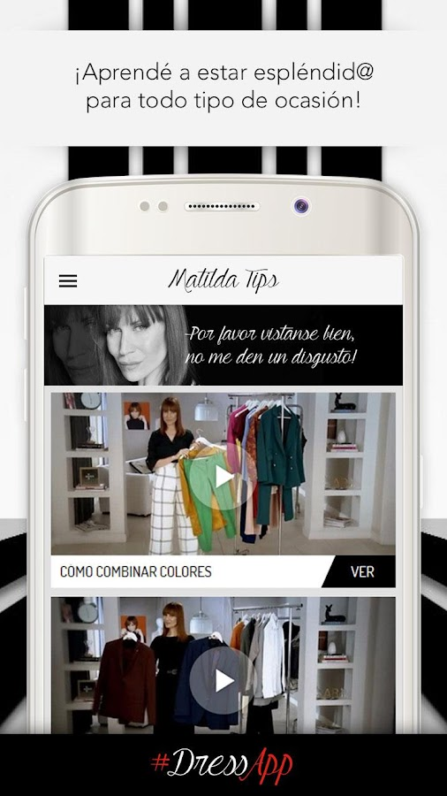 Matilda Blanco - DressApp- screenshot