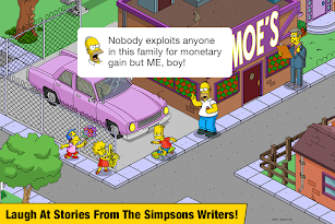 The Simpsons: Tapped Out screenshot for Android