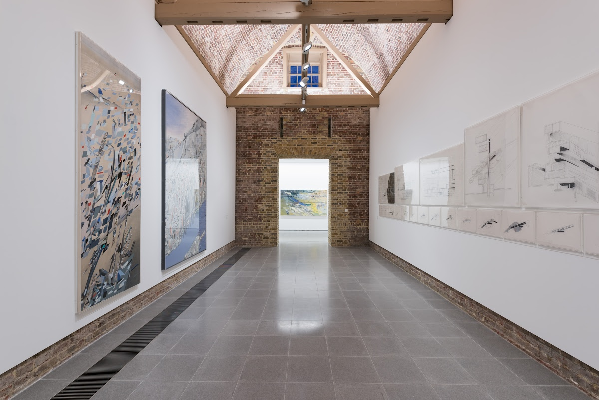 Zaha Hadid Early Paintings And Drawings Serpentine Galleries Google Arts Culture