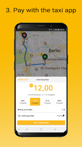 taxi.eu screenshot 3