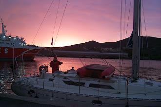 Photo: Auringonnousu Kealla.