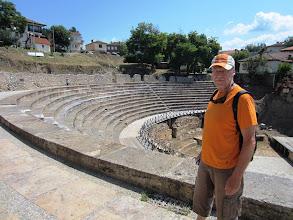 Photo: Antiikinaikainen teatteri (ja Lasse)