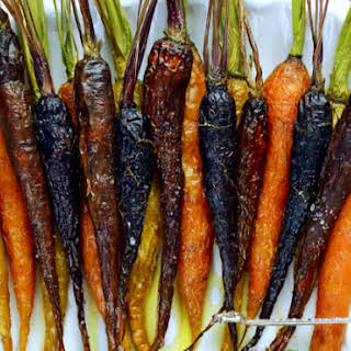 Salted Honey Roasted Carrots.