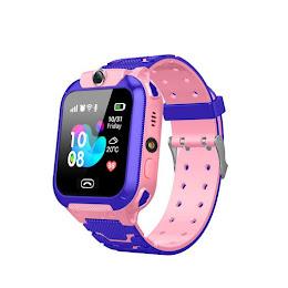 Smartwatch pentru copii cu monitorizare locatie, functie de telefon - ROZ