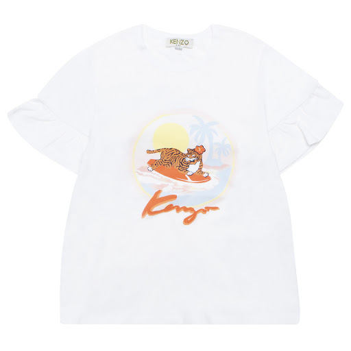 Primary image of Kenzo Kids Tiger Sunset T-shirt