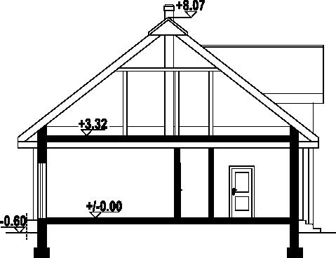 Dębogóra 5 - Przekrój