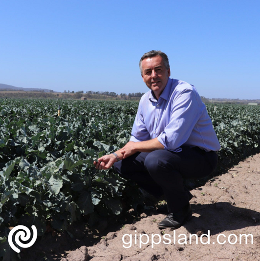 Federal Member for Gippsland Darren Chester welcomed the announcement of the extension of the On-farm Emergency Water Infrastructure Rebate Scheme