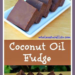 Coconut Oil Fudge.