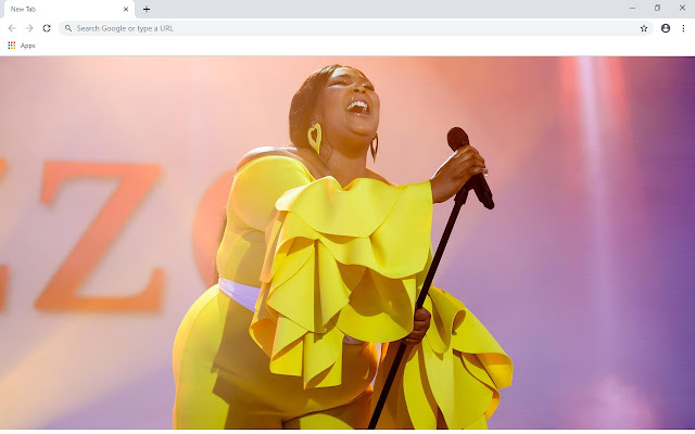 Lizzo New Tab & Wallpapers Collection
