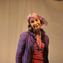 Photo: 'Trois Dames sur une ile déserte', à Saint-Etienne-de-Tinée (06)
