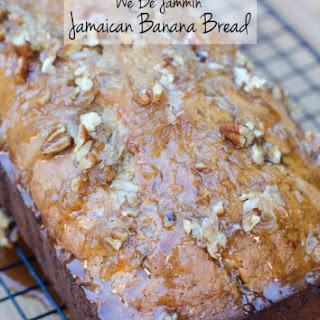 We Be Jammin' Jamaican Banana Bread.