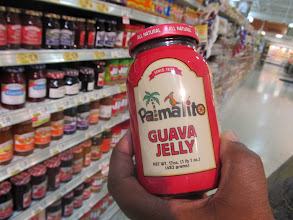 Photo: My husband, whose Cuban, convinced me to try this Guava Jelly.  It's locally grown.
