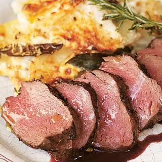 Pan Roasted Venison - Jamie at Home Recipe