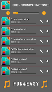 Siren Sounds Ringtones screenshot 1