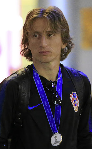 Luka Modric leaves Russia, July 16 2018. Picture: REUTERS