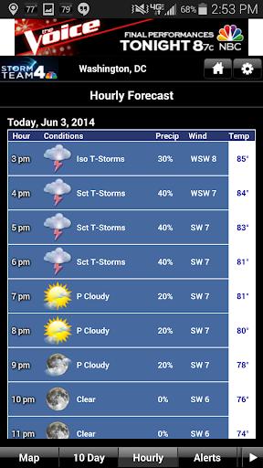 NBC4 Weather screenshot 2