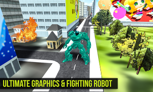 Robot Futuristic Tornado:Robot Transformation 2020 android2mod screenshots 4