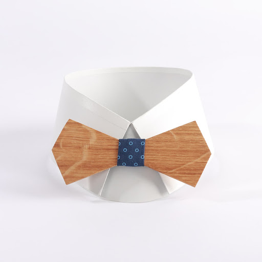 Cary noeud papillon en bois chez woodenfr.com