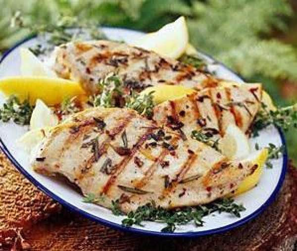 Lemon Barbecued Chicken, Diabetic
