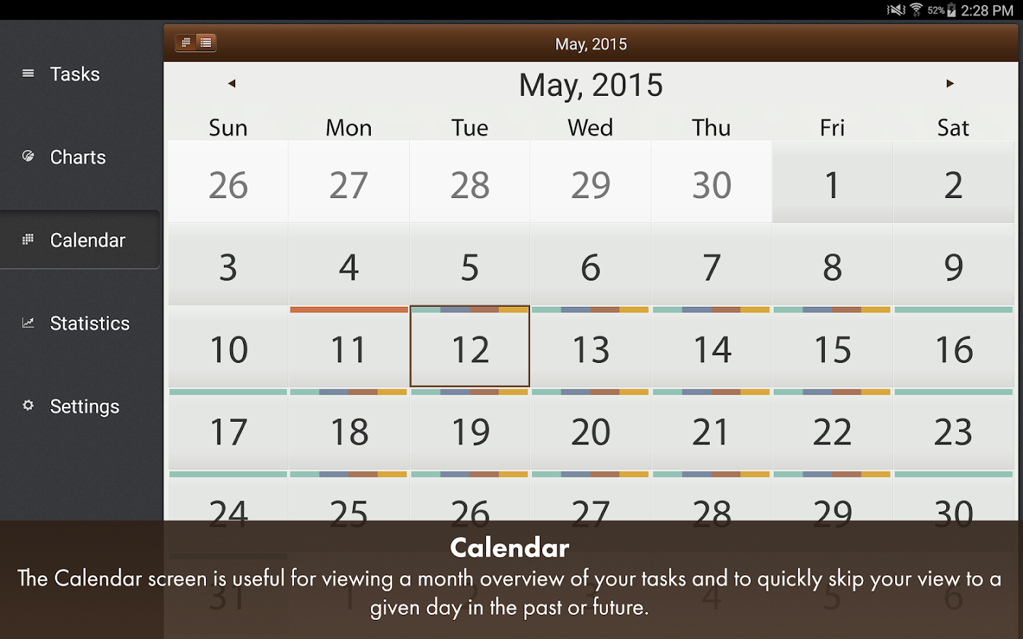 Schedule Planner Classic Pro- screenshot