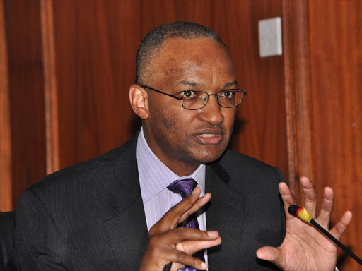 CBK Governor Dr Patrick Ngugi Njoroge.Photo/File