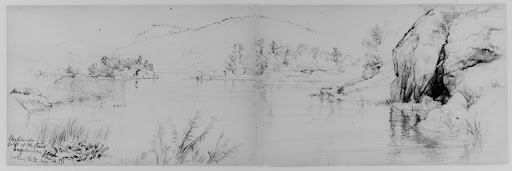 Bog Meadow, West Point, 1871 (from Sketchbook)