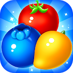 Fruit Treats: Match 3 Juicy Tastes Icon