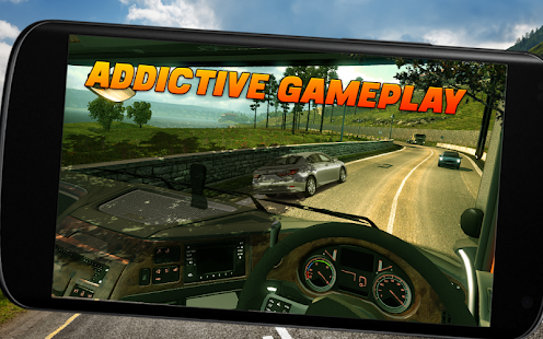 Speed Truck Driving Simulator Uphill Race Game 3D - náhled