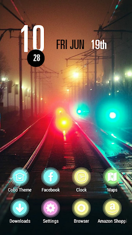 android Colorful and Mysterious Street Screenshot 0