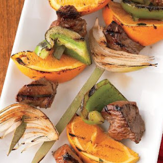 Jerk Seasoned Beef Skewers