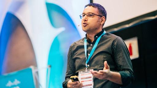Cyber analyst Pukhraj Singh.