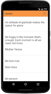 Just Be (mindfulness app)- screenshot thumbnail