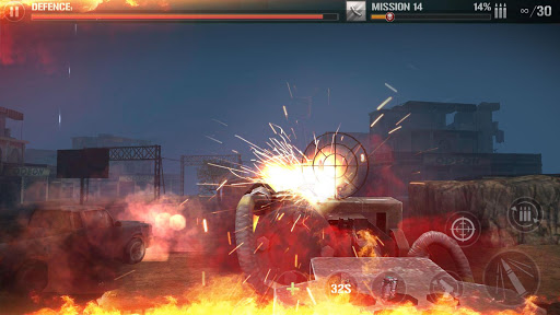 Zombie Defense Shooting: FPS Kill Shot hunting War filehippodl screenshot 2