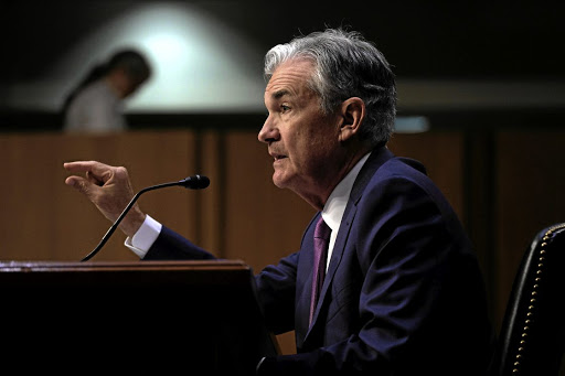 US Federal Reserve chairman Jerome Powell. Picture: REUTERS