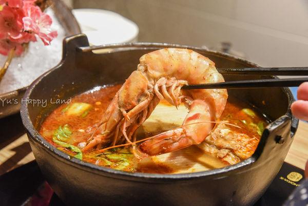 板橋/火鍋 鮮入圍煮 活海鮮 鮮甜活沙公 大size明蝦 特選湯頭 食記 心得 新埔美食