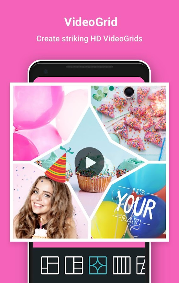 PhotoGrid: Video & Pic Collage Maker, Photo Editor- screenshot
